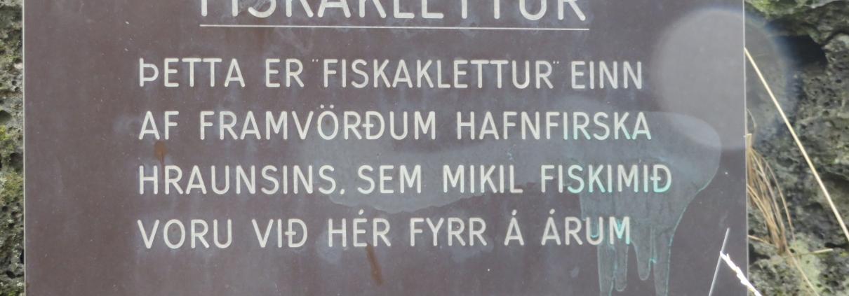 Fiskaklettur