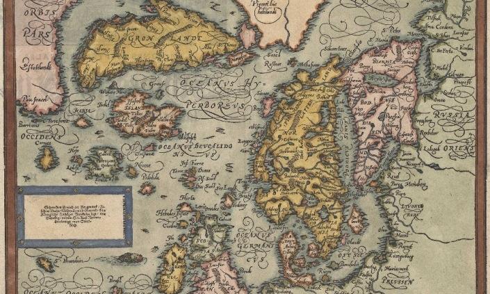 Íslandskort