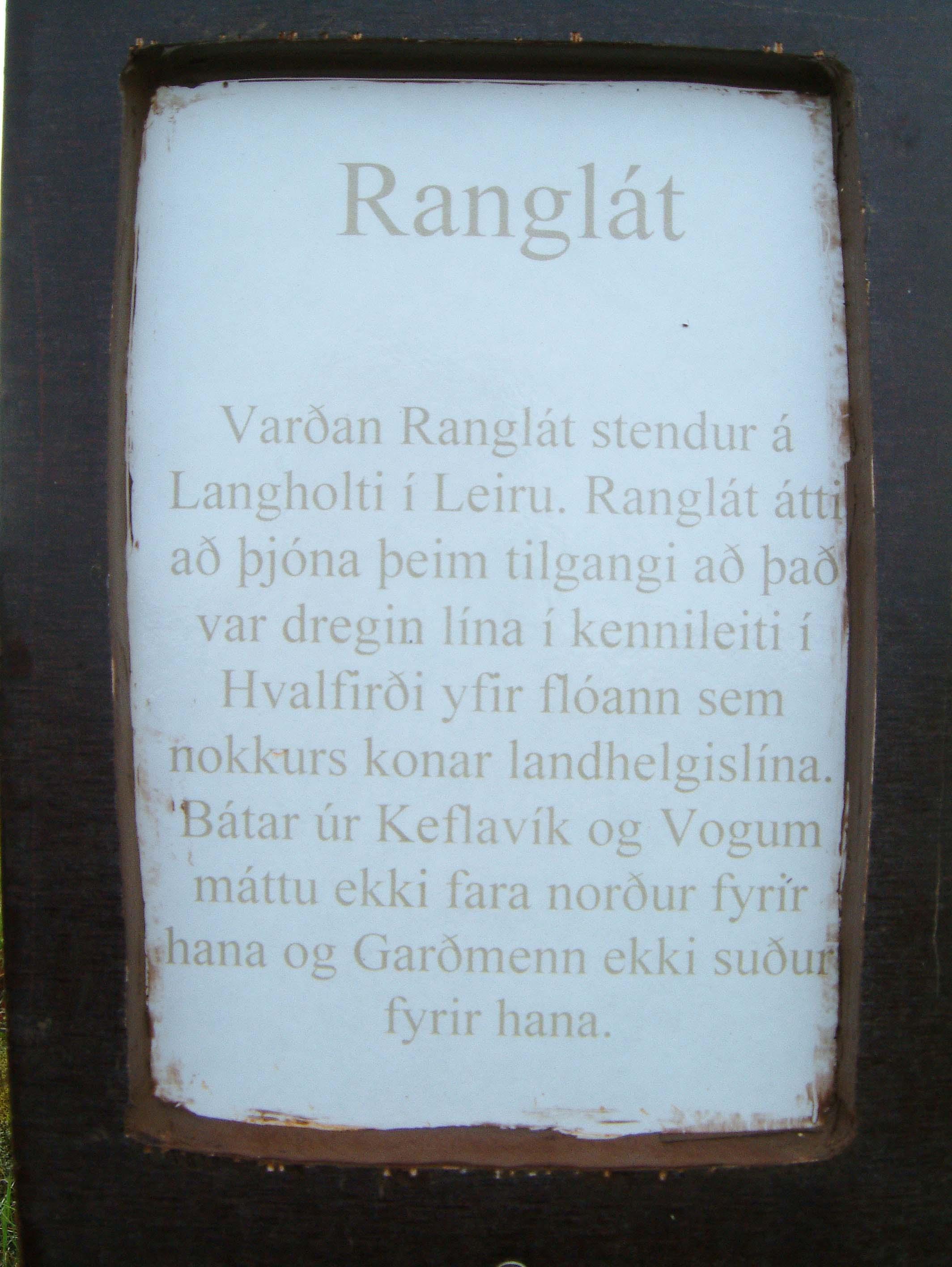 Ranglát