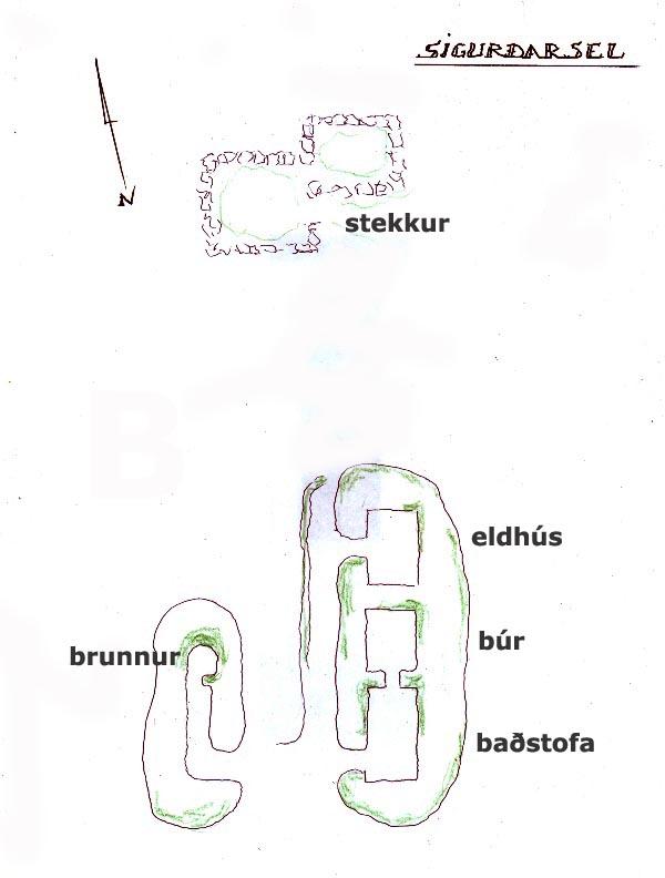 Sigurðarsel - Þingvöllum