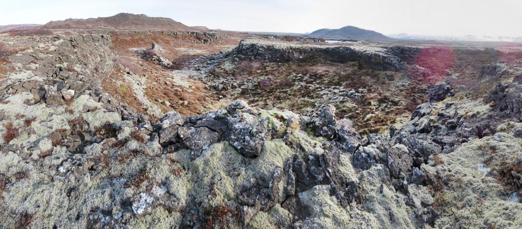 Búrfell - Kringlóttagjá