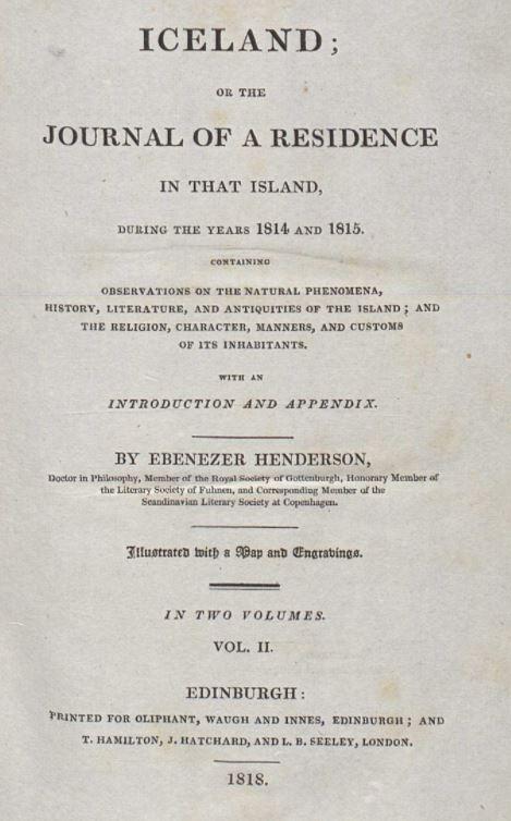 Ebenezer Henderson
