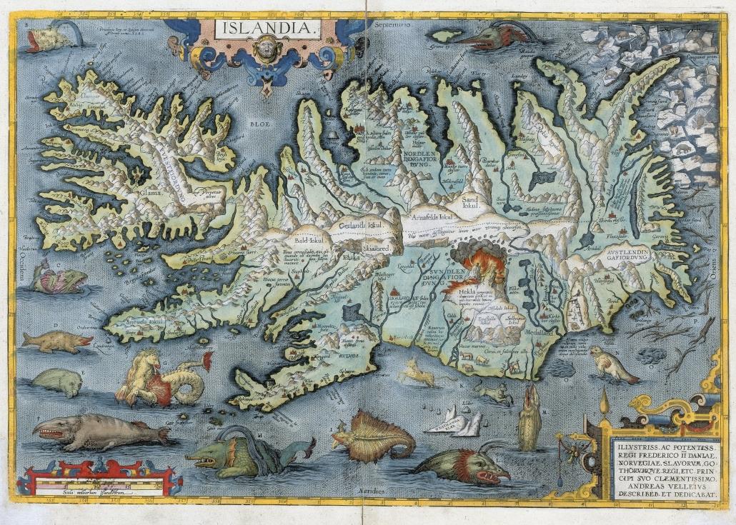 Íslansuppdráttur 1595