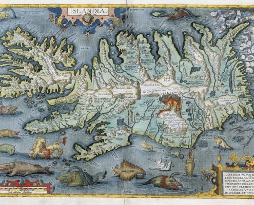 Íslandsuppdráttur 1595