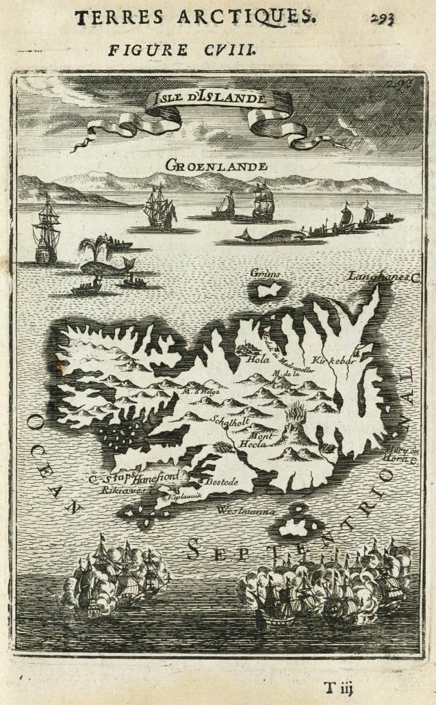 Íslandskort 1683