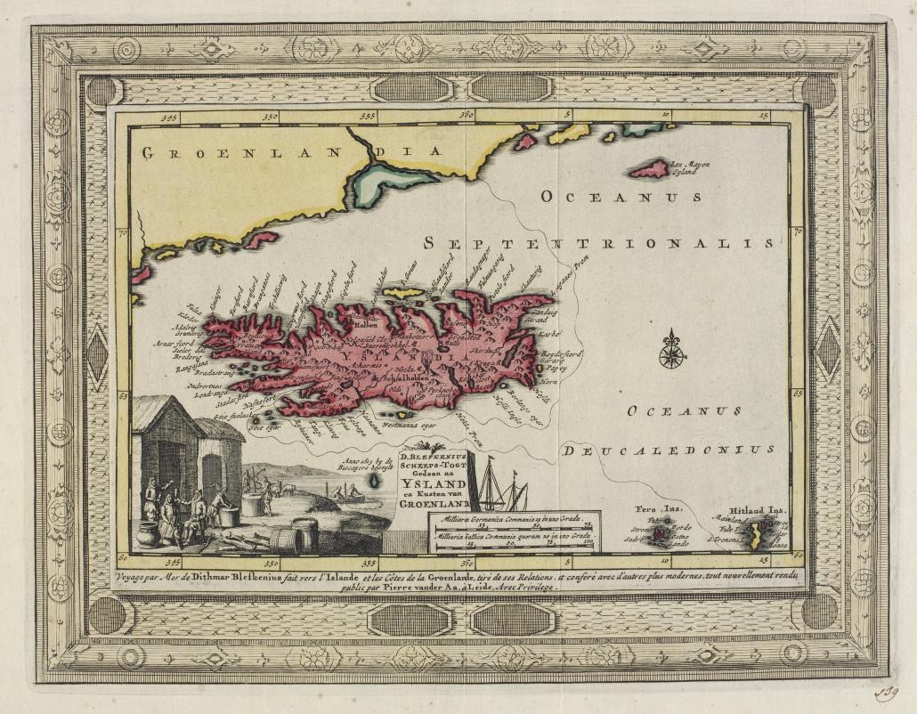 Íslandskort 1724