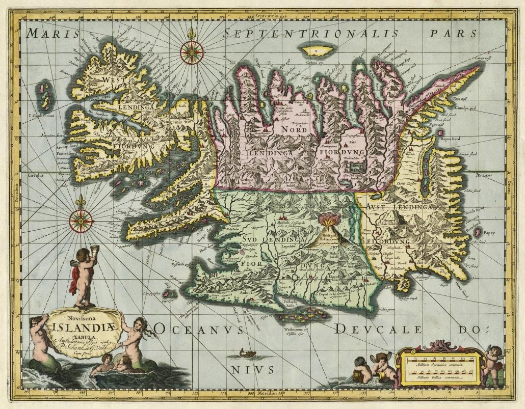 Íslandskort 1700