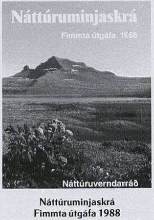 Náttúruminjaskrá 1988