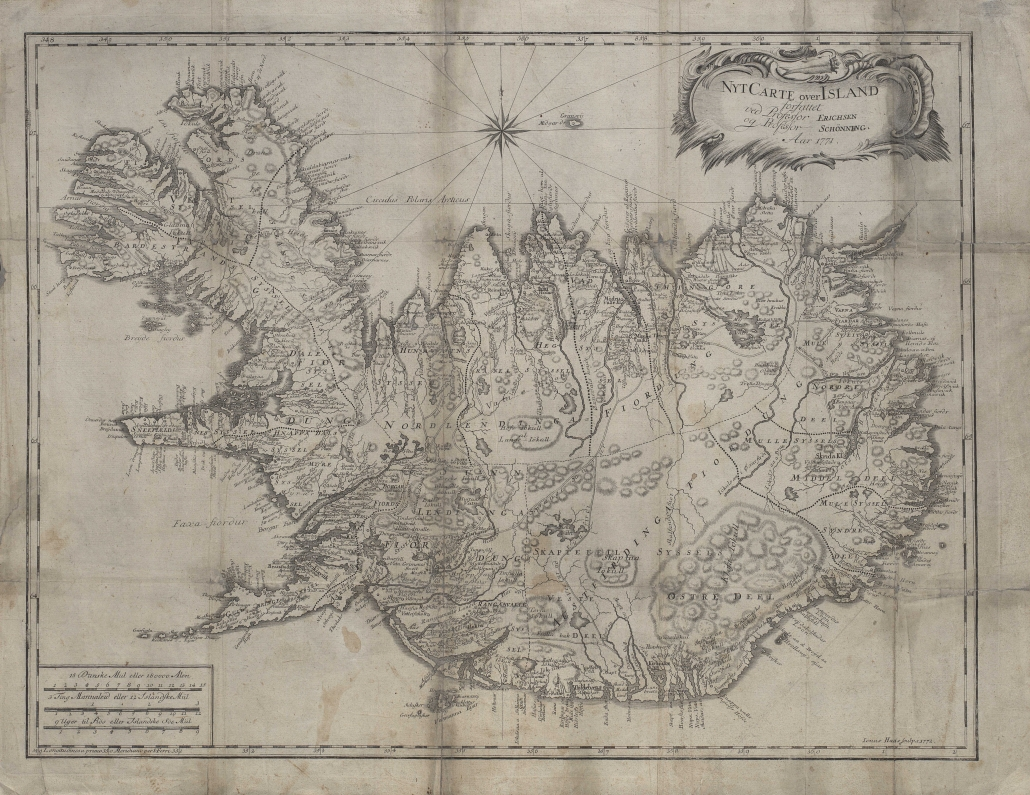 Íslandsskort