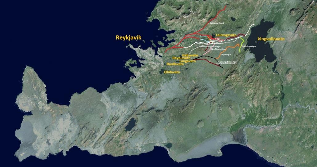 Þingvallaleiðir