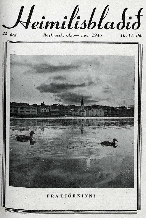 Heimilsblaðið 1945