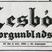 Lesbók Morgunblaðsins