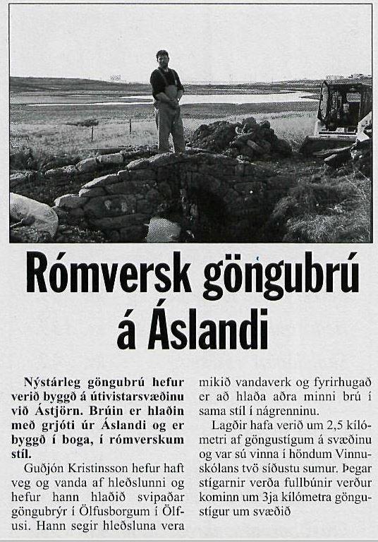 Ás - brúarsmíði