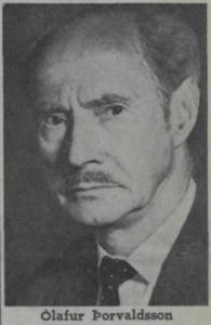 Ólafur Þorvaldsson