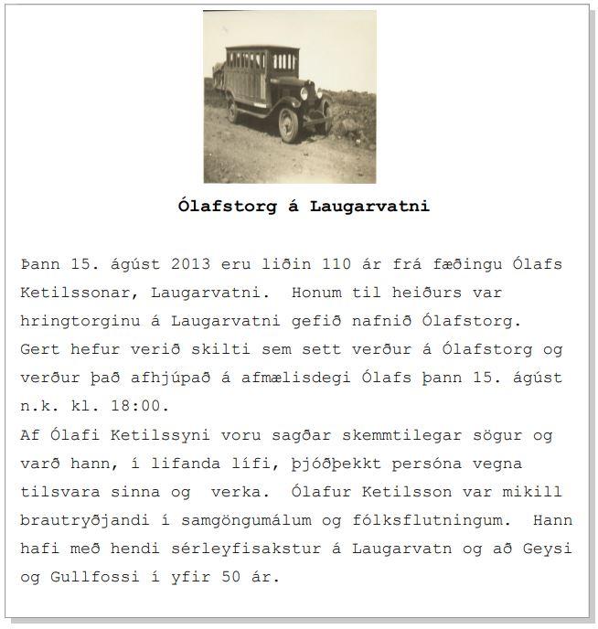 Ólafur Ketilsson