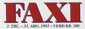 Faxi 1993