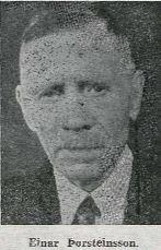 Einar Þorsteinnson