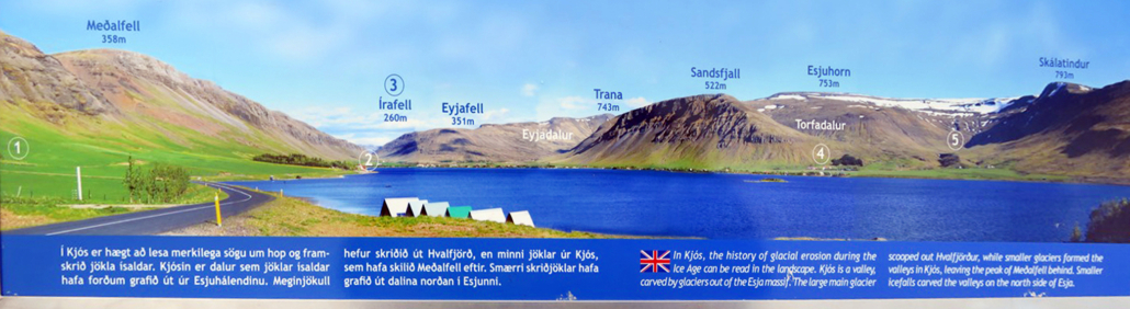 Meðalfellsvatn - skilti