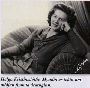 Helga Kristinsdóttir